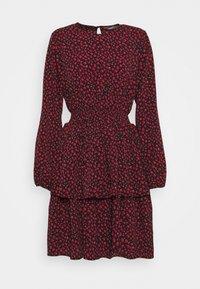 ONLY Tall - ONLTESSA DRESS - Day dress - black/mars red - 0
