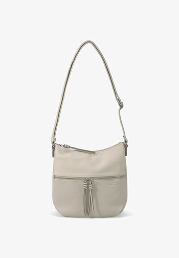 HELINA MIT ANHÄNGERN - Across body bag - off white / off white
