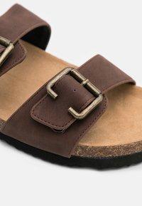 Anna Field - Slippers - dark brown - 6