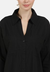 usha - BLUSE - Button-down blouse - schwarz - 3