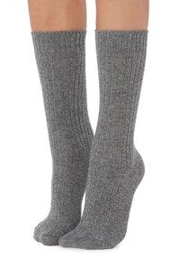 Socken - grigio melange