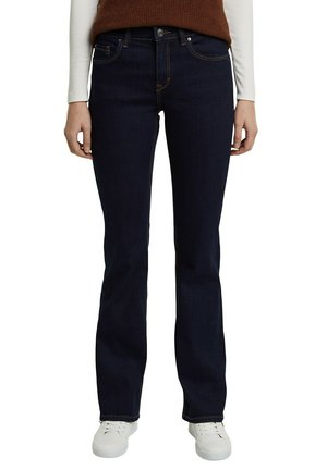 Flared Jeans - blue rinse
