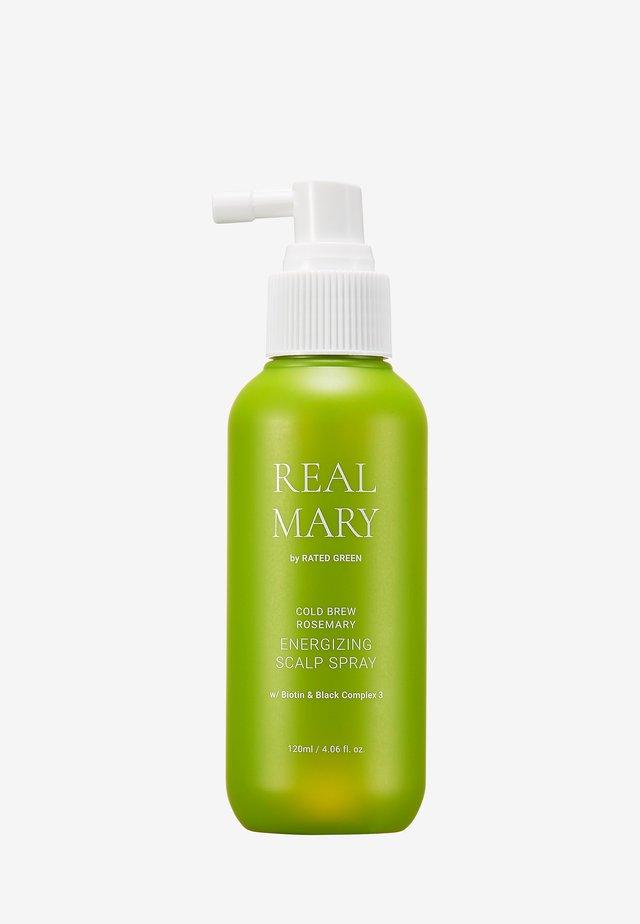REAL MARY ENERGIZING SCALP SPRAY - Hair treatment - -