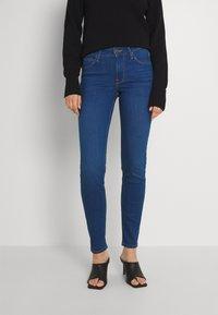 Lee - SCARLETT - Jeans Skinny - dark aya - 0