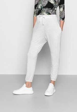 MATERNITY SUPER SOFT HAREM PANT - Trousers - soft grey marle