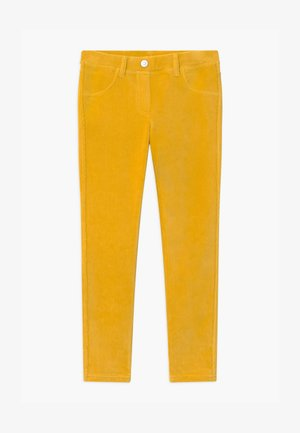 BASIC GIRL - Trousers - yellow