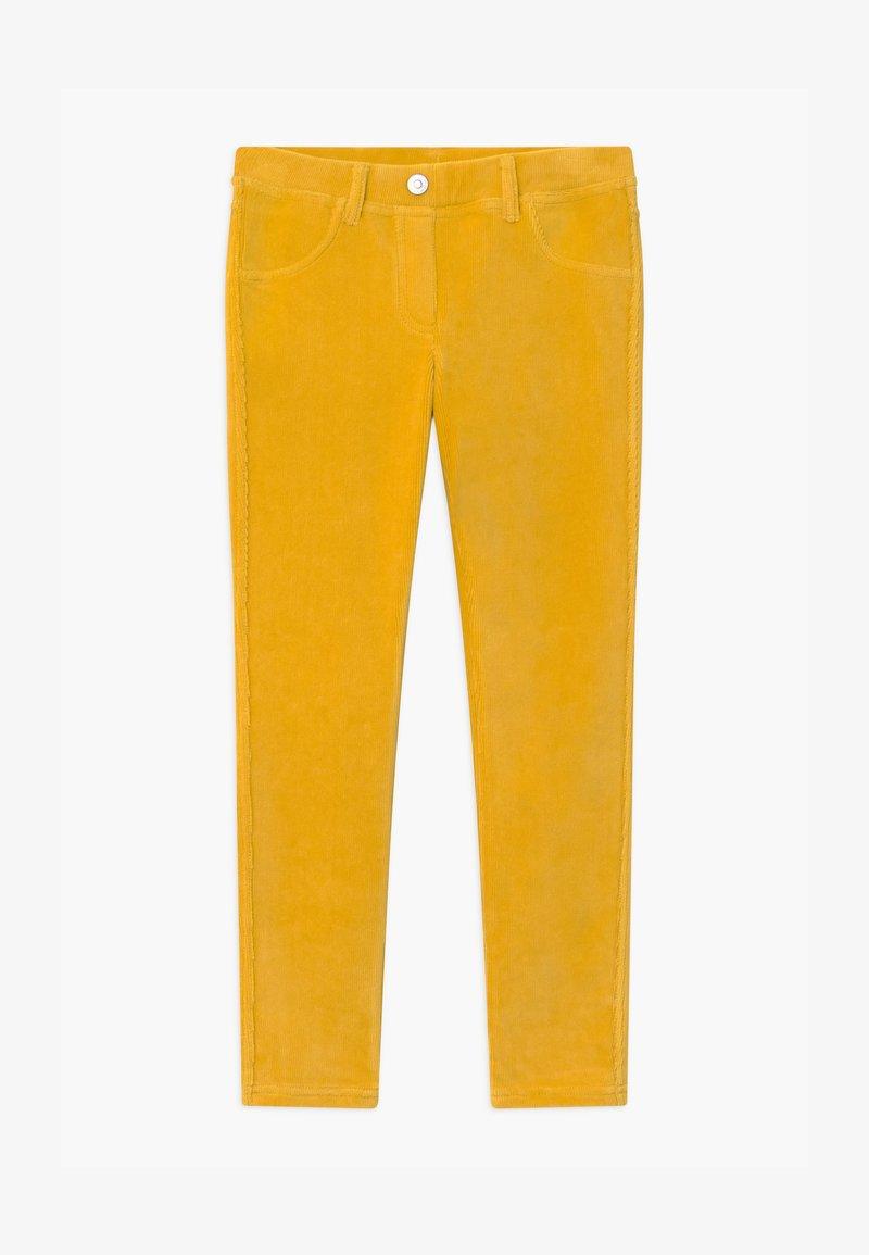 Benetton - BASIC GIRL - Kalhoty - yellow
