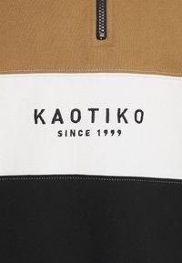 Kaotiko - CREW COONOR UNISEX - Zip-up hoodie - sand - 2
