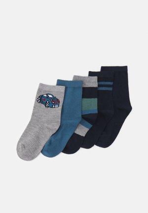 NMMVAGN SOCK 5 PACK - Socks - dark sapphire