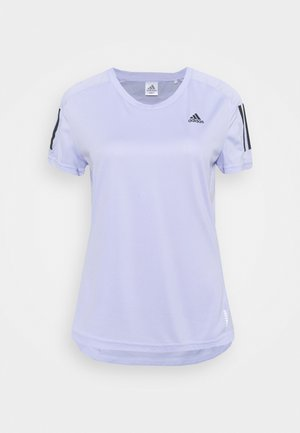 OWN THE RUN TEE - Camiseta estampada - violet tone