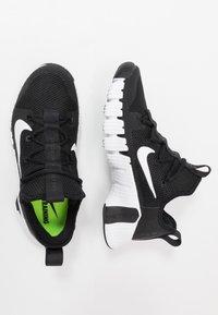 Nike Performance - FREE METCON 3 - Treningssko - black/white/volt - 1