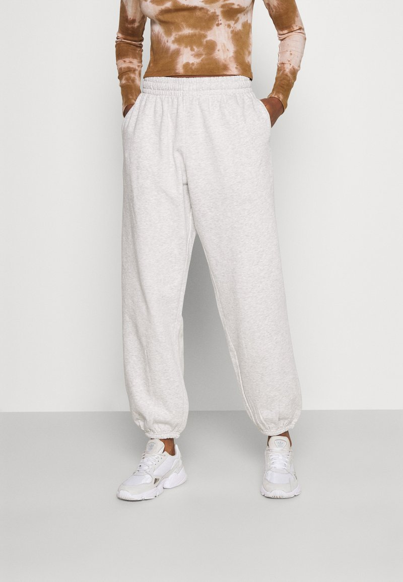 Weekday - CORINNA  - Tracksuit bottoms - grey melange