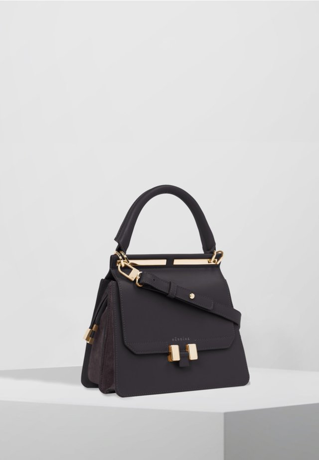 MARLENE - Sac à main - black/black lavagna/gold