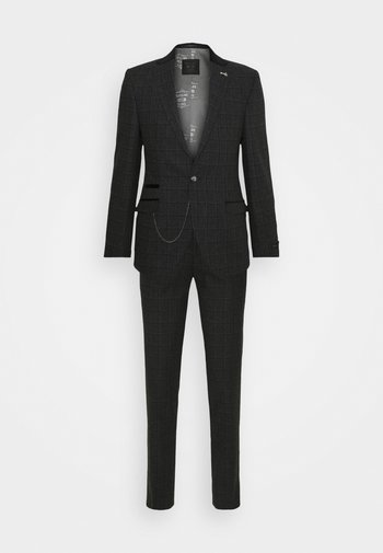 ALMA SUIT - Suit - charcoal