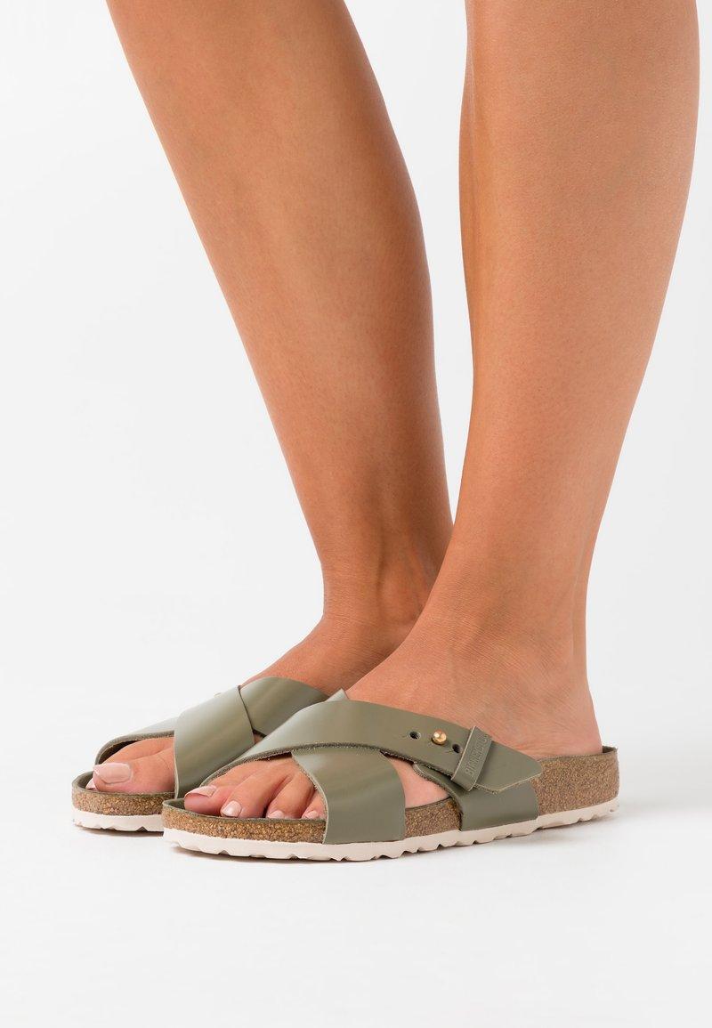 Birkenstock - SIENA URBAN - Slippers - khaki