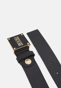 Versace Jeans Couture - PLAQUE BUCKLE - Belte - nero - 2