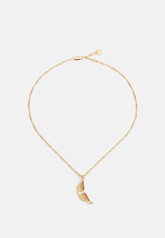 MILA TWIST NECK - Ketting - shiny gold-coloured