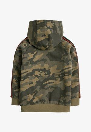 CAMOUFLAGE ZIP THROUGH HOODY (3-16YRS) - Zip-up hoodie - green