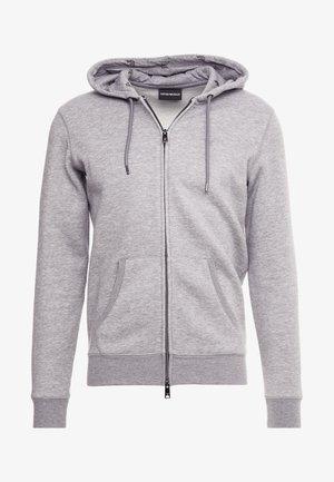 FELPA - Zip-up hoodie - grigio melange