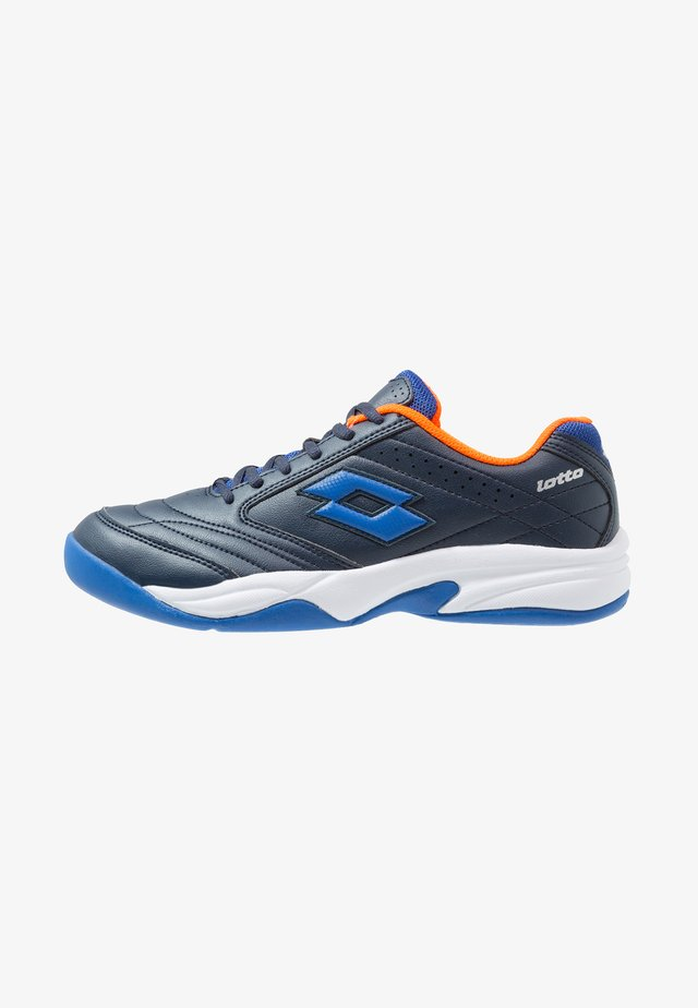 COURT LOGO 8 ID - Carpet court tennis shoes - blue