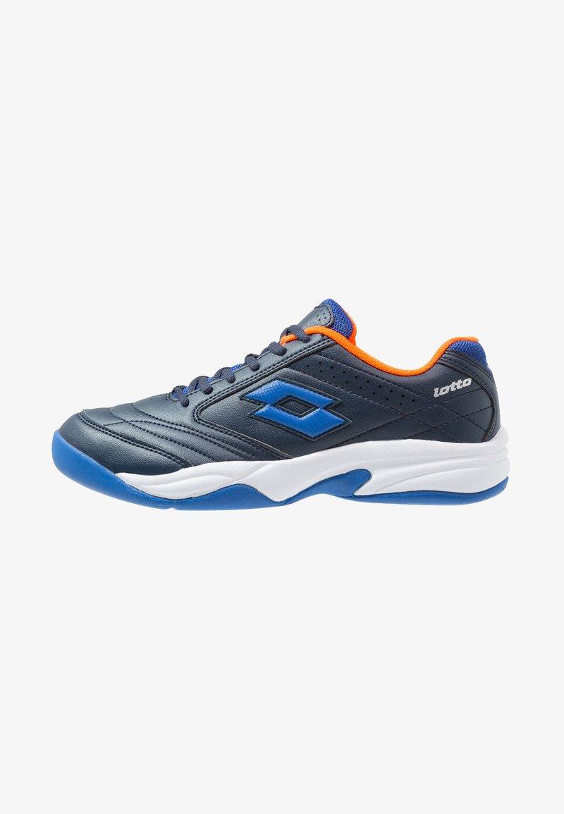 Lotto - COURT LOGO 8 ID - Zapatillas de tenis para moqueta sintética - blue