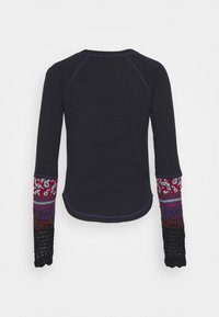 Free People - IN THE MIX CUFF - Svetr - black combo - 1