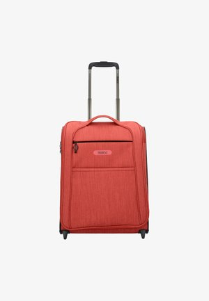 FLOATING  - Wheeled suitcase - red