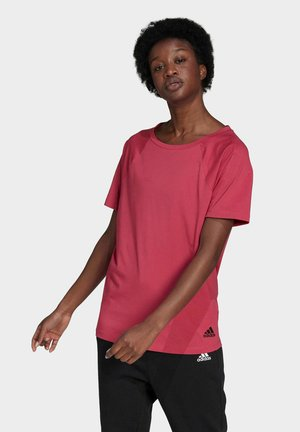 W TE TEE PB - T-shirts - pink
