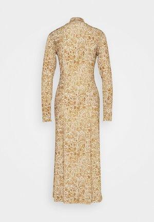 NICE DRESS LONG - Žerzejové šaty - cashew