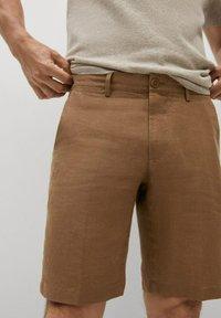 Mango - CARP - Shorts - tabac - 3
