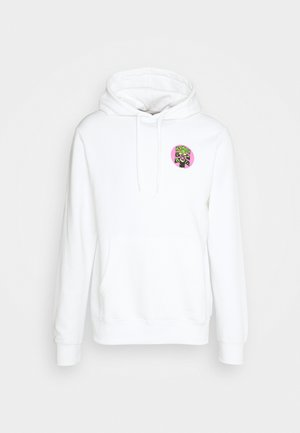 BIG CAT HOOD - Hoodie - optic white
