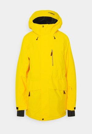ZEOLITE JACKET - Snowboard jacket - chrome yellow