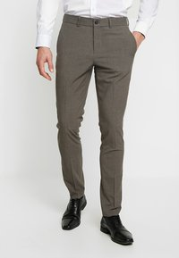 Lindbergh - PLAIN SUIT  - Puku - light brown - 5