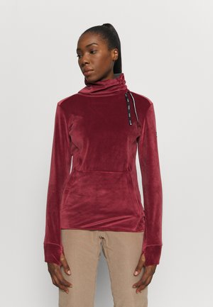 DELTINE  - Fleece trui - oxblood red
