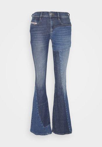 D-EBBEY-GO - Flared Jeans - medium blue