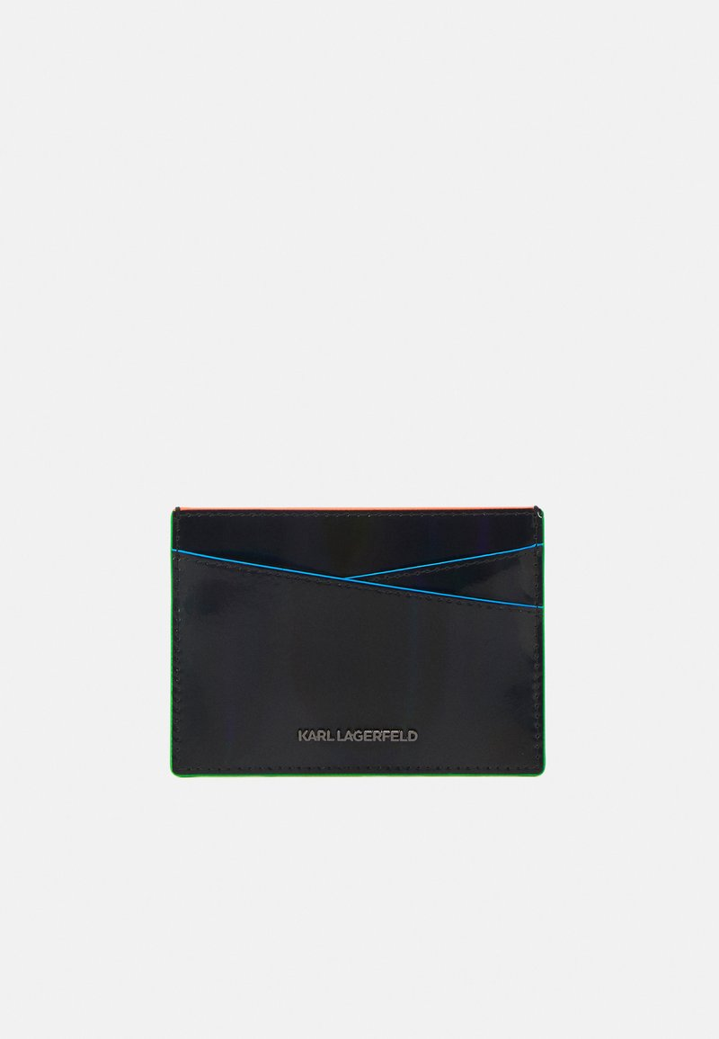 KARL LAGERFELD - SEVEN IRIDESCENT - Peněženka - black