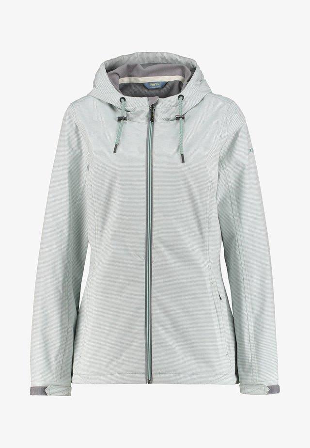 VERACRUZ - Soft shell jacket - mint