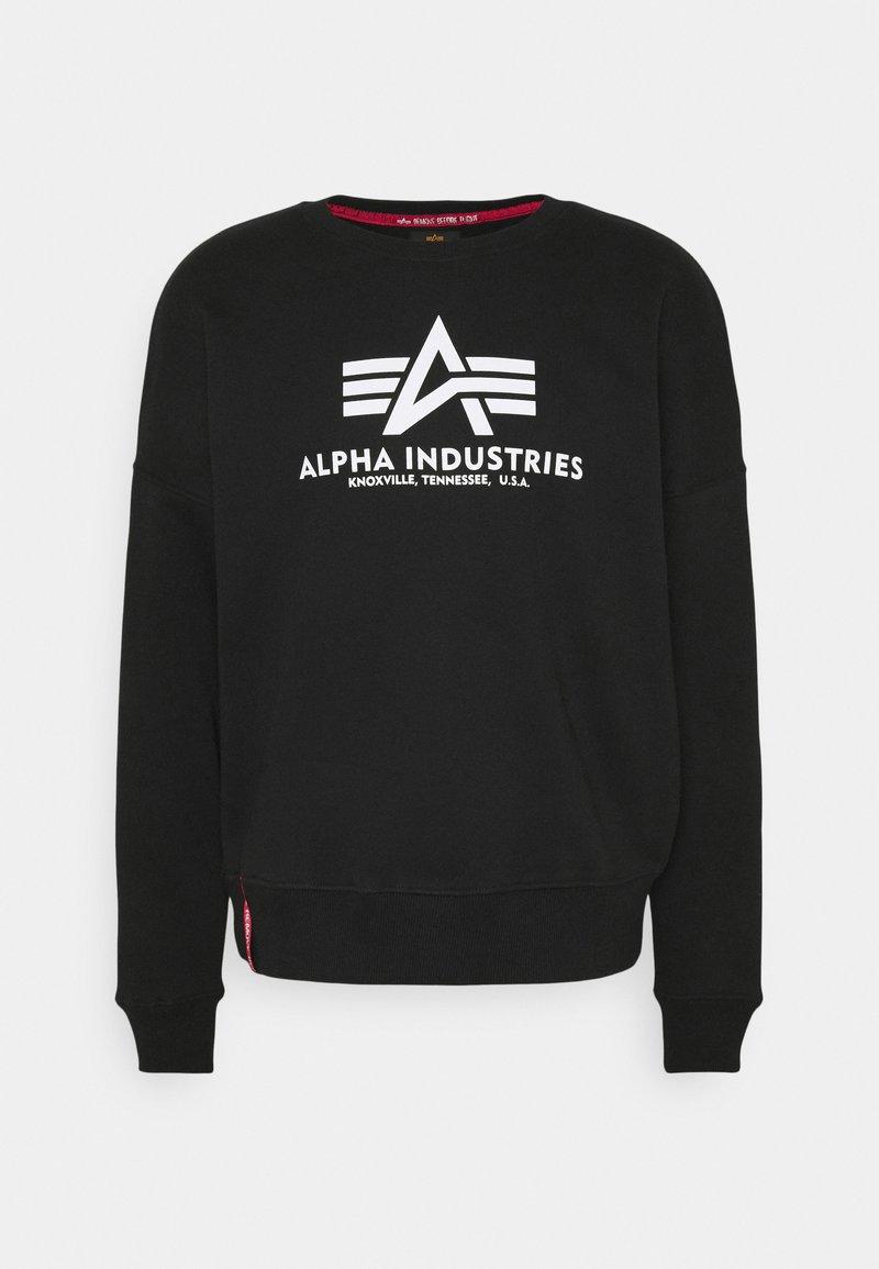 Alpha Industries - BASIC - Mikina - black
