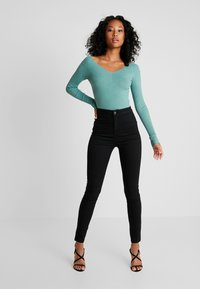 Even&Odd - Stickad tröja - turquoise - 1