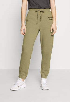 GRAPHIC JOGGER - Joggebukse - green