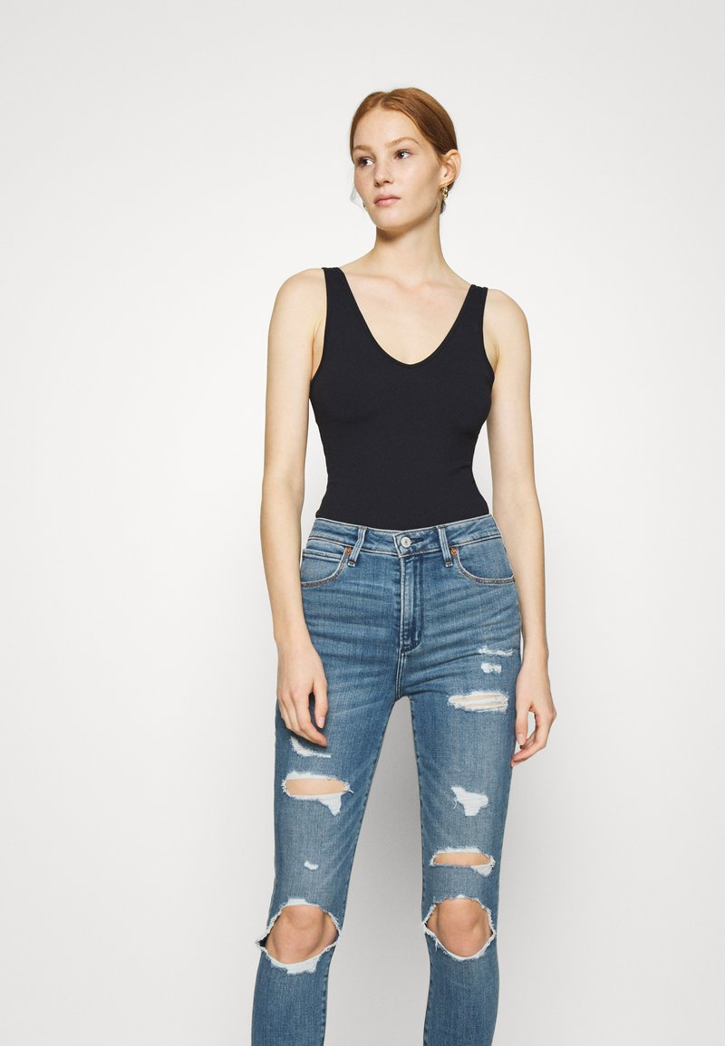 Abercrombie & Fitch - BARE SEAMLESS BODYSUIT - Top - black