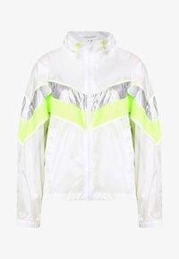 Urban Classics - LADIES 3 TONE LIGHT TRACK JACKET - Summer jacket - white/silver - 0