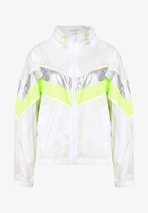 LADIES 3 TONE LIGHT TRACK JACKET - Summer jacket - white/silver