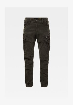 ROXIC STRAIGHT TAPERED CARGO PANT ASFALT GD MEN - Cargo trousers - asfalt gd