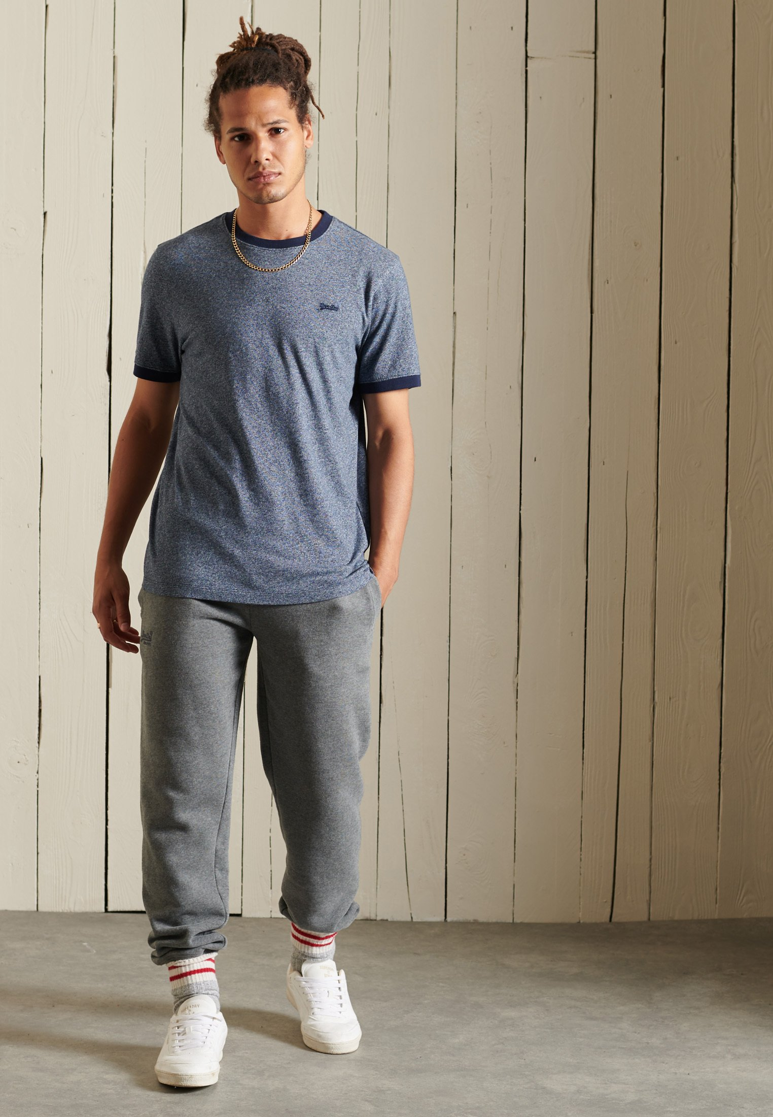 Men VINTAGE RINGER - Basic T-shirt