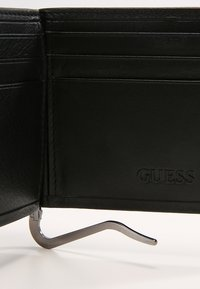 Guess - NEW BOSTON MONEY CLIP CARD - Wallet - black - 5