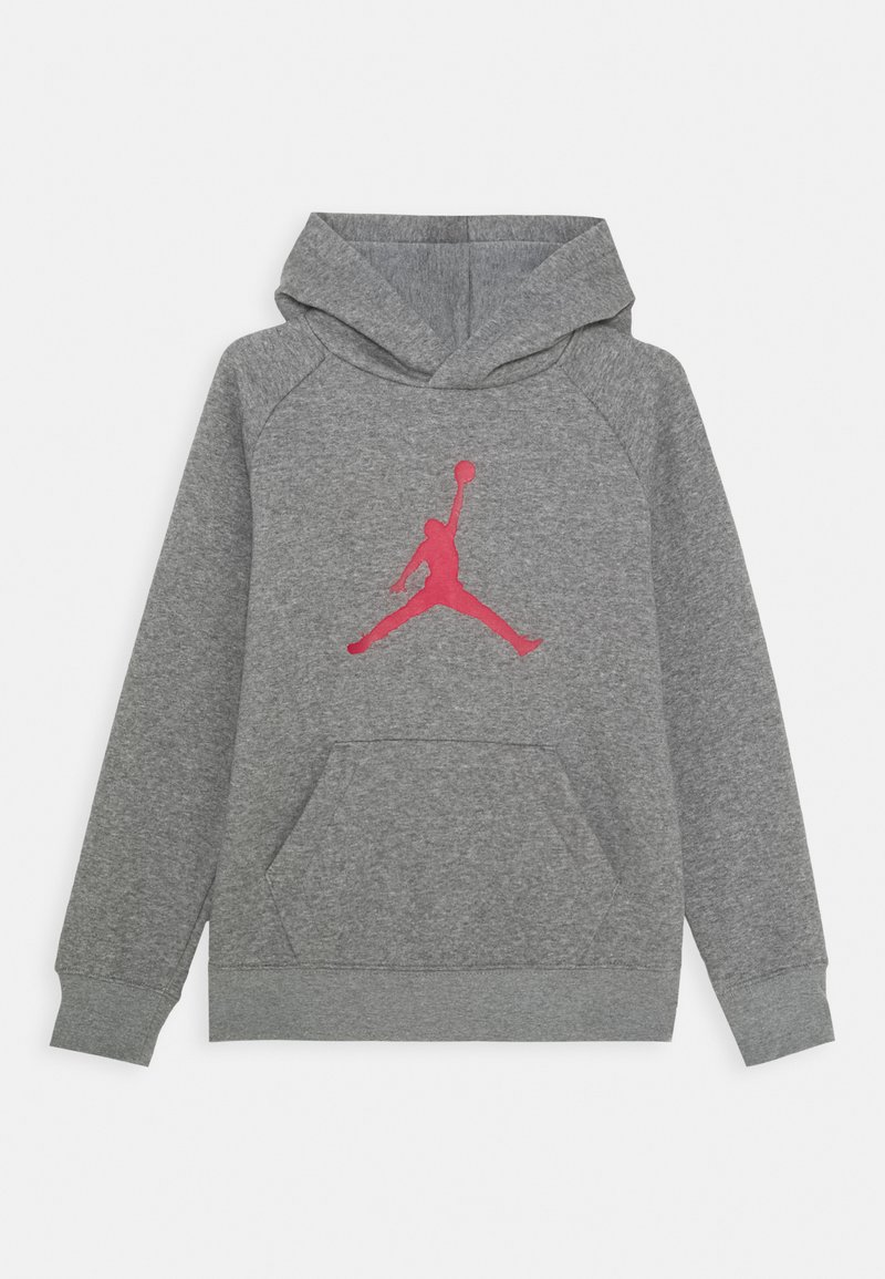 Jordan - JUMPMAN LOGO - Mikina s kapucí - carbone heather