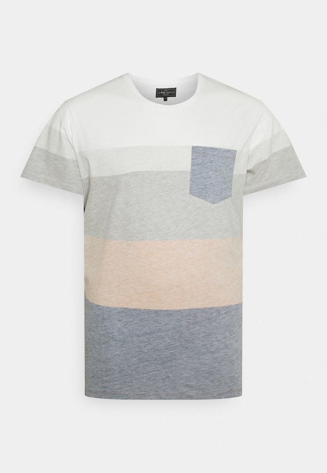 DEX TEE - T-shirt imprimé - inca gold