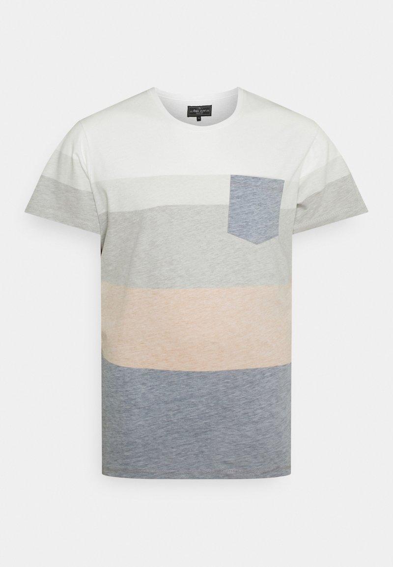 URBN SAINT - DEX TEE - Print T-shirt - inca gold