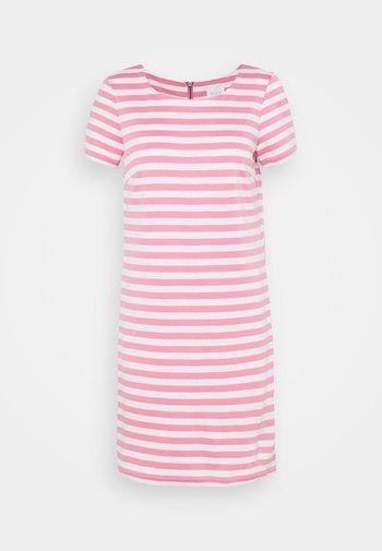 VITINNY - Jersey dress - wild rose/snow white